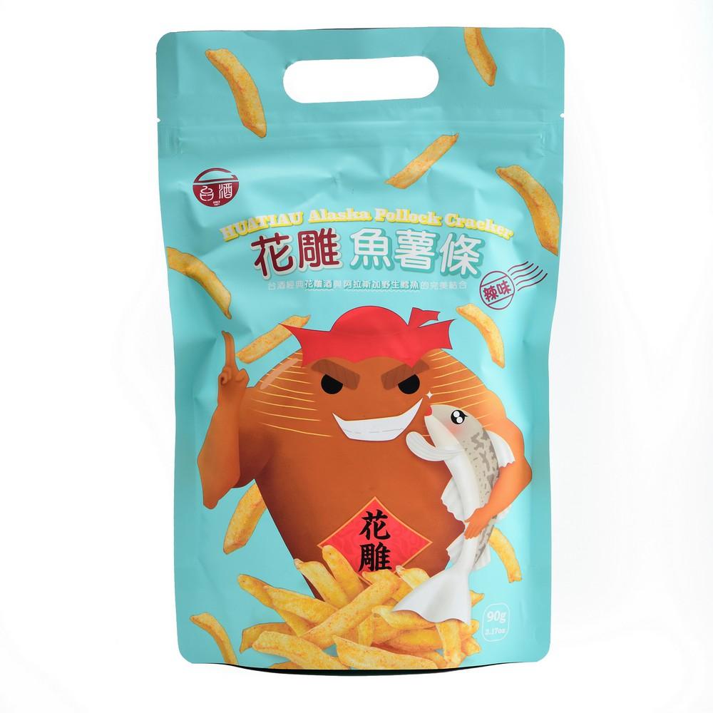 【台酒TTL】台酒花雕魚薯條單包-辣味