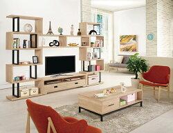 【尚品傢俱】CM-817-1 艾爾莎10尺組合電視櫃~另有2.7尺展示櫃/4尺展示櫃