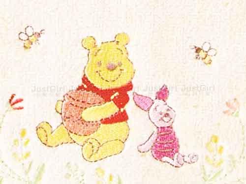 毛巾 維尼 Winnie Pooh 迪士尼 日本進口