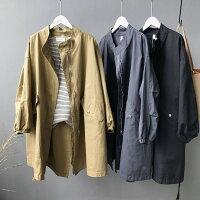 風衣外套推薦到現貨1件就免運-中長款風衣BF風抽繩水洗棉外套 / 樂天時尚館。現貨就在樂天時尚館推薦風衣外套