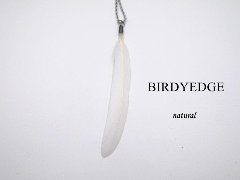 BIRDYEDGE 天然羽毛 羽毛項鍊 鋼鈦 德國鋼 高 多色 藤原浩   項鍊男 羽毛