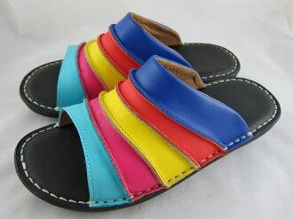 真皮工坊~穿過的都說讚【S1024】比氣墊鞋好穿*保證真皮㊣牛皮手工拖鞋【顏色多種可自選、顏色挑選請參考首頁】
