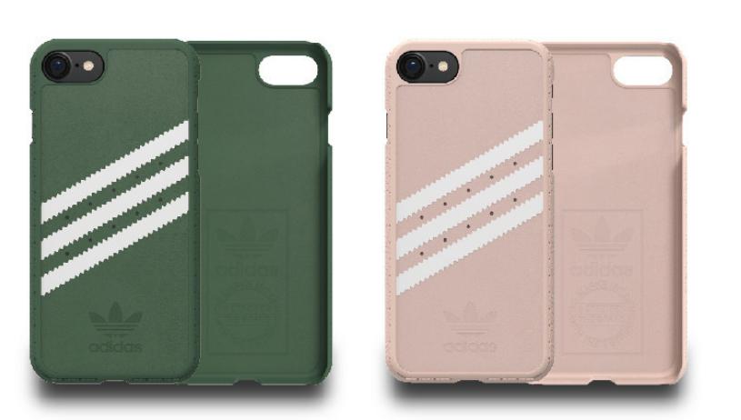 【免運】Adidas 經典三紋皮質背蓋 iPhone 6 / 6s / i7 手機殼 保護殼 背殼