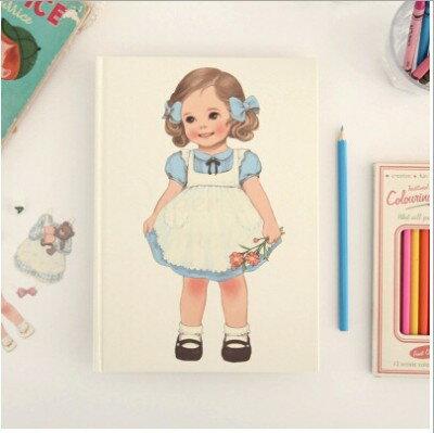 WallFree窩自在~韓式可愛女孩手繪畫本