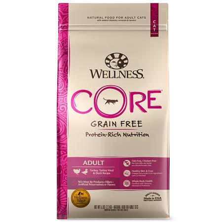 WELLNESS 寵物健康 成貓低敏田園均衡食譜 2磅 Core無穀系列