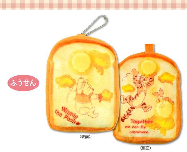NOBA 不只是禮品:Pooh小熊維尼土司吐司吊飾日本帶回正版商品迪士尼