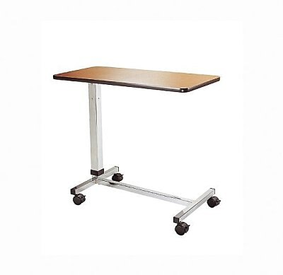 永大醫療~可升降移動式餐桌板/移動式餐桌板~自動昇降床上桌/床上方便吃飯看書(病床用床旁桌)特惠價1480元