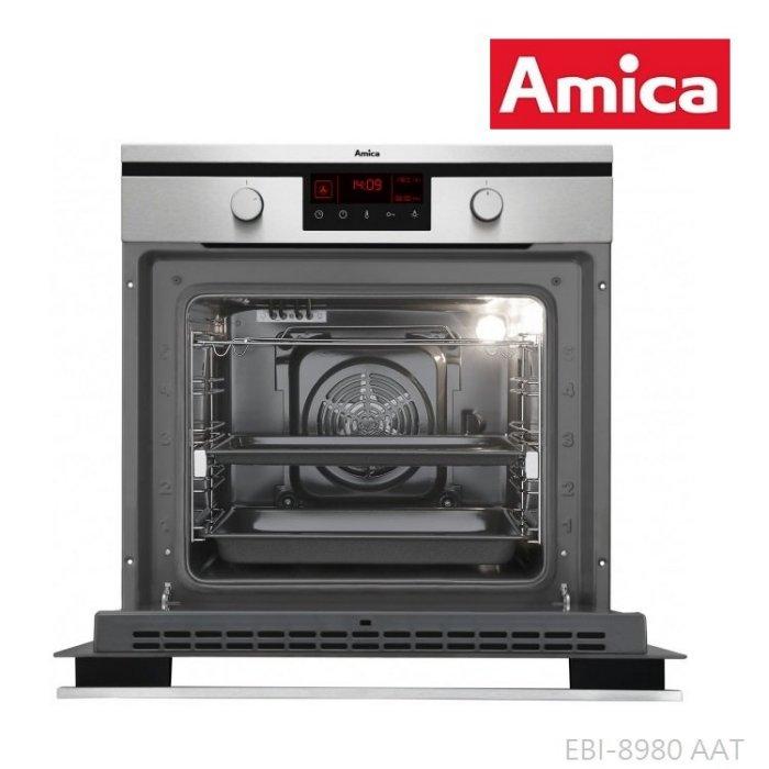《波蘭Amica》崁入式烤箱(黑色)  EBI-8980 AAT