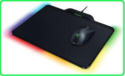 雷蛇Razer Mamba+Firefly HyperFlux 雙模超級曼巴蛇(有線+無線)+雙面無線供電鼠墊 滑鼠鼠墊組/滑鼠鼠墊RGB背光/鼠墊355x12.9x282.5mm/RZ83-02480100-B3M1