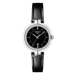 TISSOT天梭表 T0942101605100 FLAMINGO時尚女仕時尚腕錶/黑面26mm