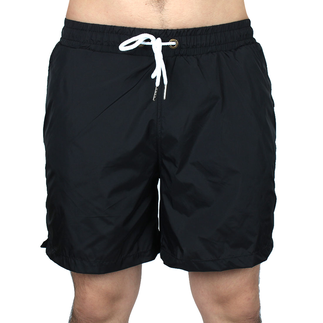 3e8bf5f148 Men Exercise Running Polyester Casual Breathable Summer Beach Surf Board  Shorts Pants W34 Black 0