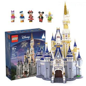 PGS7 日本迪士尼系列商品 - 樂高 LEGO 迪士尼 城堡 4080片積木 米奇 【STZ71193】