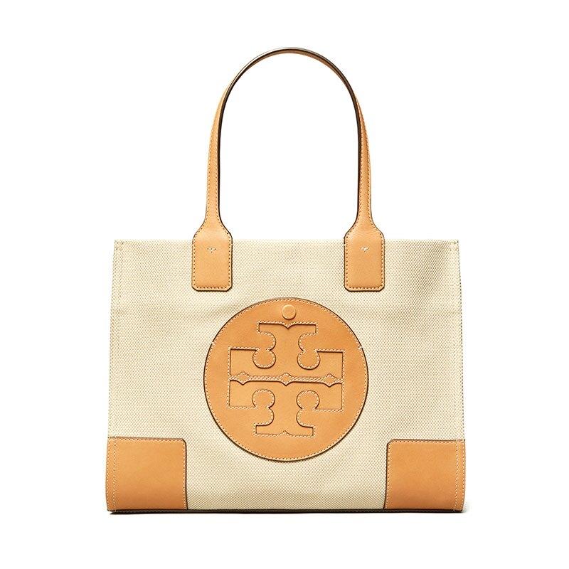 TORY BURCH 尼龍Logo購物袋 45208