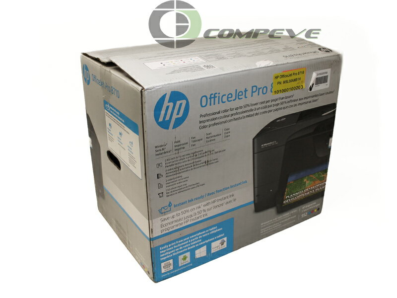 HP OfficeJet Pro 8710 All-in-One Multifunction Printer M9L66A