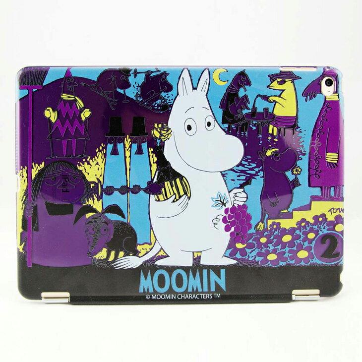 Moomin 嚕嚕米正版授權 -【 赴宴(紫) 】:《 iPad Mini/Air/Pro 》水晶殼+Smart Cover(磁桿)