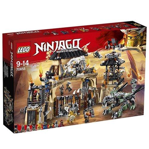 樂高LEGO 70655  NINJAGO 旋風忍者系列 - 暗黑獵龍寨 - 限時優惠好康折扣