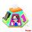 *限量特賣* Fisher-Price費雪 - 寶寶小餐椅 + People - 新超級多功能七面遊戲機 兩大原廠聯名超值組 1