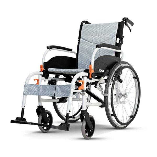 【康揚】鋁合金手動輪椅 飛揚825 移位型輪椅 輕量化輪椅 ~ 超值好禮2選1