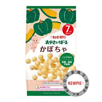 日本KEWPIEキユーピー丘比寶寶菓子球-南瓜7M+小點心即食