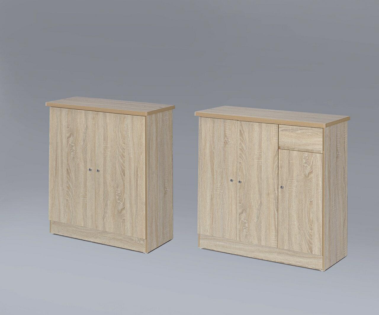 【尚品家具】GF-H19 橡木色2尺開門鞋櫃,超便宜~(另有3尺)