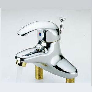 單槍面盆龍頭(雙孔) 寬15cmX高12cm 水龍頭 蓮蓬頭 衛浴設備 洗澡 裝潢 衛浴設計