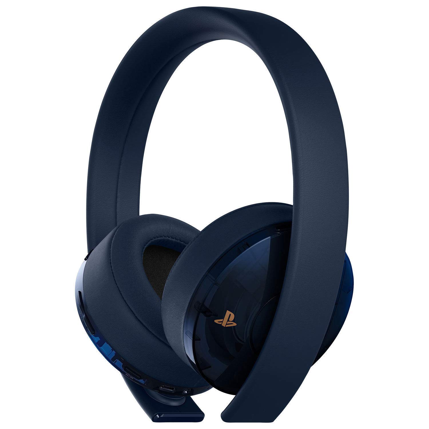 837898f8668 Sony Playstation Gold Wireless Headset Black 500 Million Limited Edition