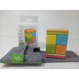 【淘氣寶寶】美國 TEGU 磁性積木8件組-調色盤