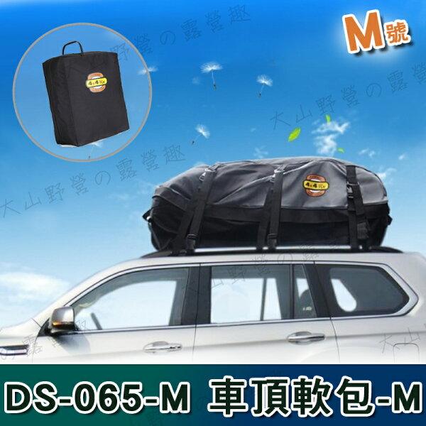 【露營趣】中和安坑送綁帶DS-065-M防水車頂軟包車頂包汽車行李包行李箱太空包置物包裝備袋
