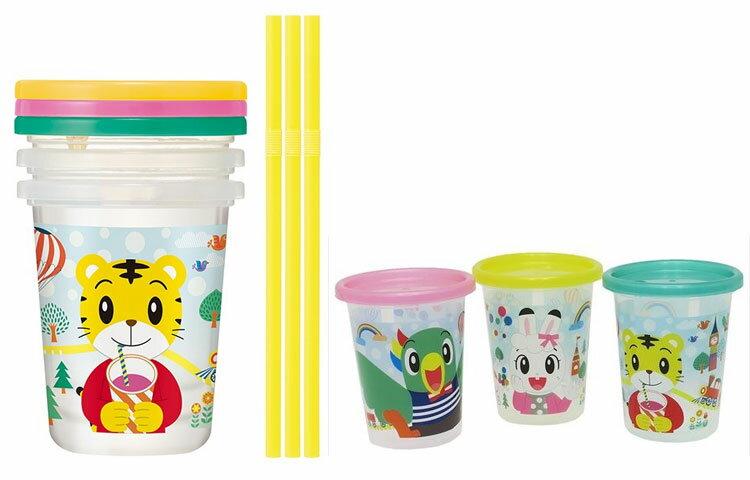 巧虎 水杯三件組 日本製造 附吸管 320ml 正版商品 巧連智