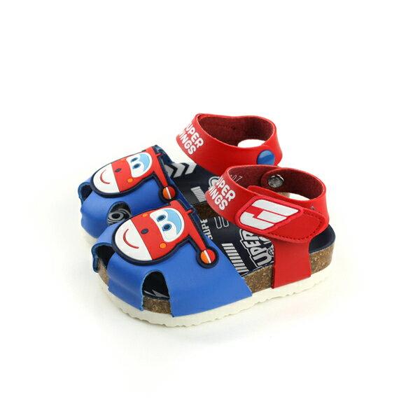 SUPERWINGS涼鞋紅藍色小童S83807-150no961