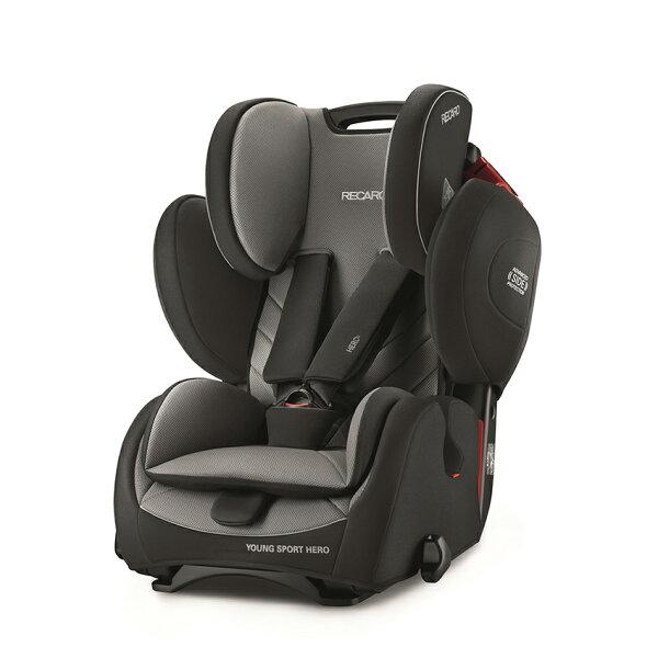 RECARO-YoungSportHero成長型汽車安全座椅(汽座)石墨灰