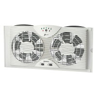 Holmes  Electronically Reversible Twin Window Fan HAWF2043-N