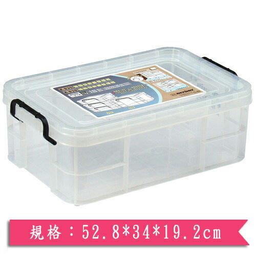 KEYWAY 強固型掀蓋整理箱 K-025【愛買】