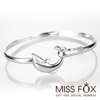 【限時5折】鍍925純銀手環 自由悠遊 輕靈手環 JJ1054