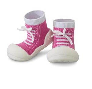 【本月特價$599】韓國【Attipas】快樂腳襪型學步鞋-律動紫 - 限時優惠好康折扣