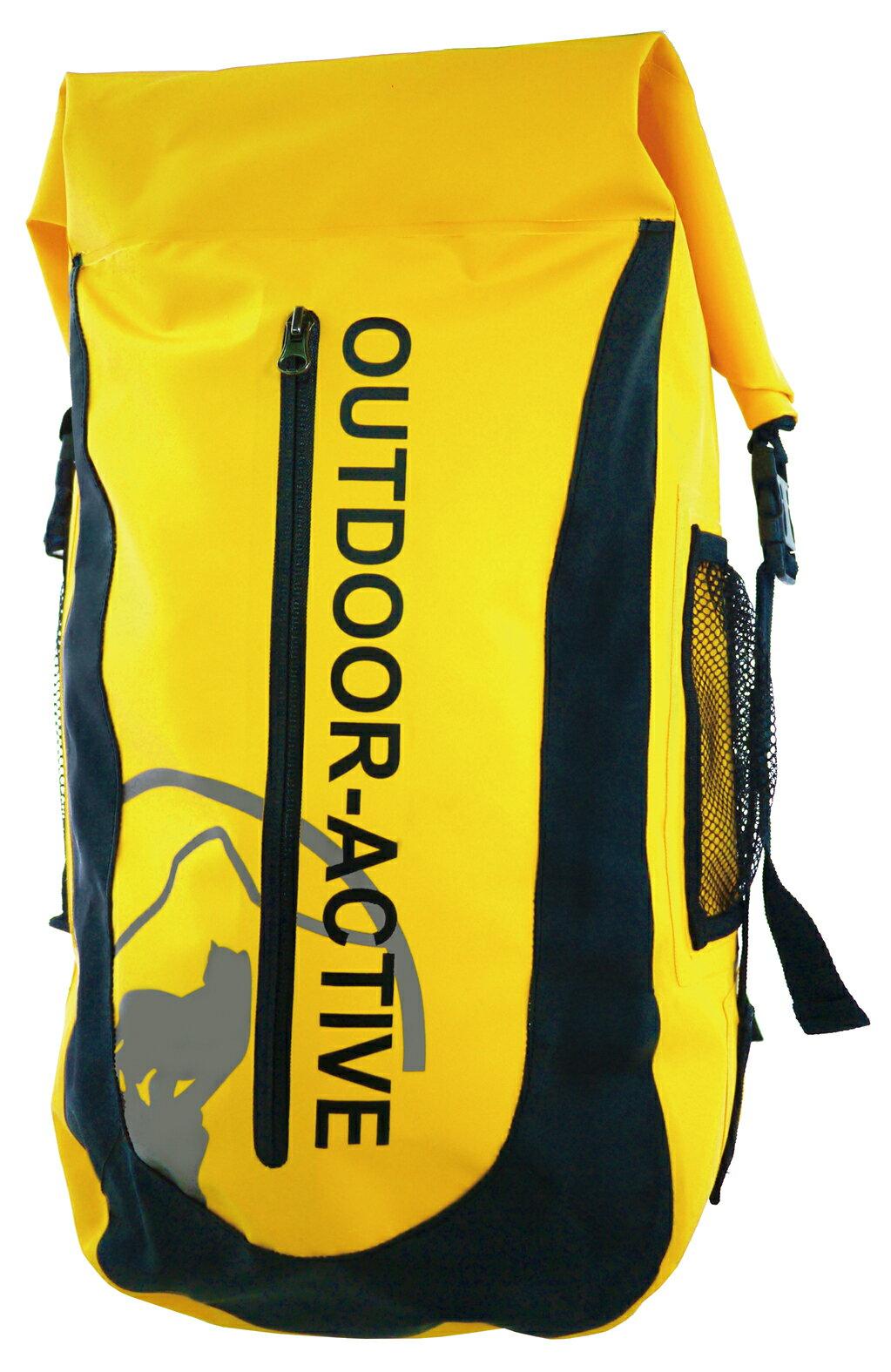 Outdoor Active | OA防水背包40L 隧道散熱-黃 | 秀山莊(OA-WP01-02)