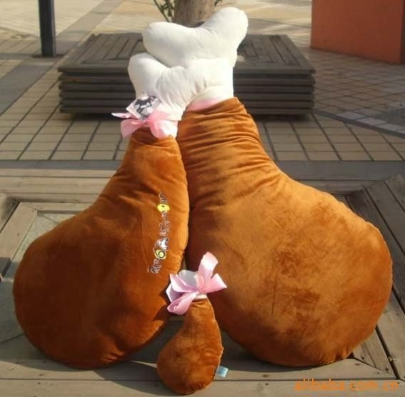 **露娜嚴選**正品!韓劇-我的女友是九尾狐 李勝基送申敏兒的 30CM大雞腿抱枕/靠墊/午安枕/午睡枕 生日禮物