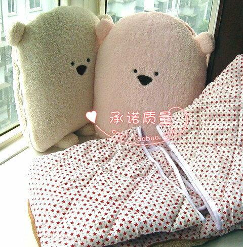大臉方熊空調被 大方熊 兩用被子靠枕 靠墊被 抱枕 涼被 午休被 冷氣毯 汽車靠墊