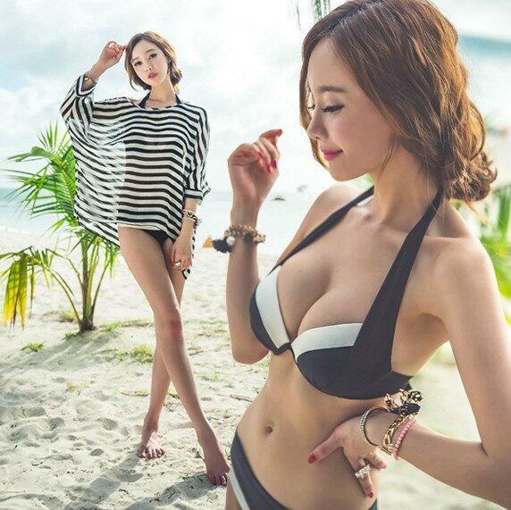 韓版 《罩衫》 百搭比基尼罩衫。泳衣泳裝夏日音樂祭