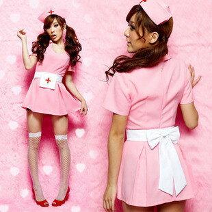 萬聖節服裝女夜店DS演出服舞台裝cosplay制服誘惑/性感護士裝寫真(含襪子)