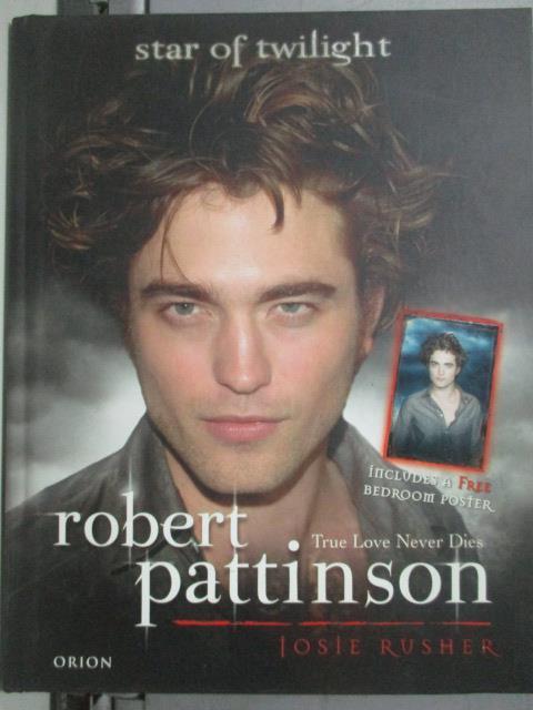 ~書寶 書T1/寫真集_ZBE~Robert Pattinson: True Love N