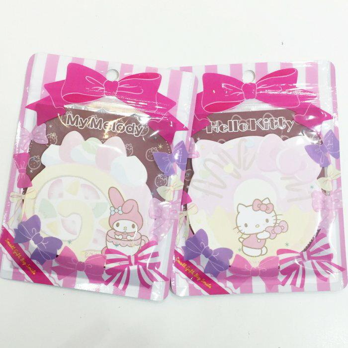 Hello Kitty 美樂蒂 Melody 便利貼 便條紙 下午茶 甜點 文具   ^~