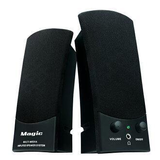【迪特軍3C】DENGEKI SK668 2.0聲道USB喇叭 Magic USB多媒體喇叭 USB供電 耳機插孔