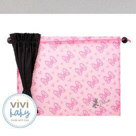 ViViBaby - Disney迪士尼米妮汽車窗簾 (2入) 0