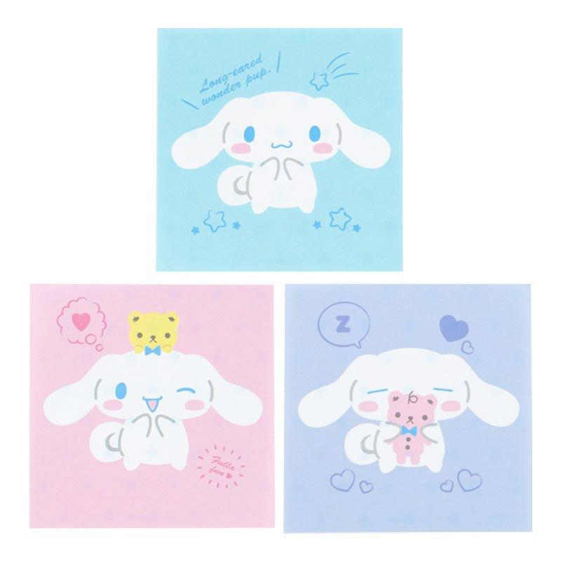 大耳狗 藍 日本製 方形便條紙 GD31 便條紙 便簽紙 便簽本 紙 文具 辦公 學生 真愛日本