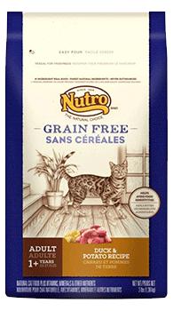 Nutro 美士 成貓 無穀低敏 鴨肉+馬鈴薯 3LB/3磅