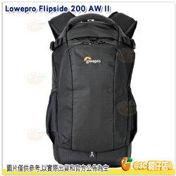 Lowepro Flipside 200AWII 新火箭手 相機後背包 黑 公司貨 7吋平板 攝影包 高容量 後背包