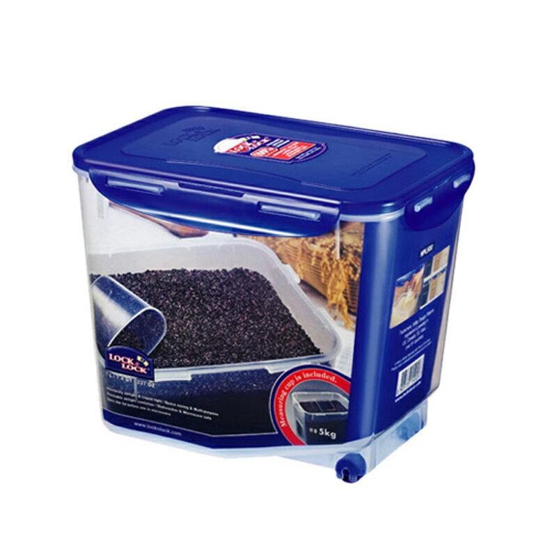 樂扣樂扣穀物米箱收納保鮮盒7L附測量杯HPL500米桶-大廚師