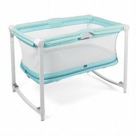 新款上市!!來電另有優惠】義大利ChiccoZip&Go可攜式兩段嬰兒搖床(湖水綠)5280元