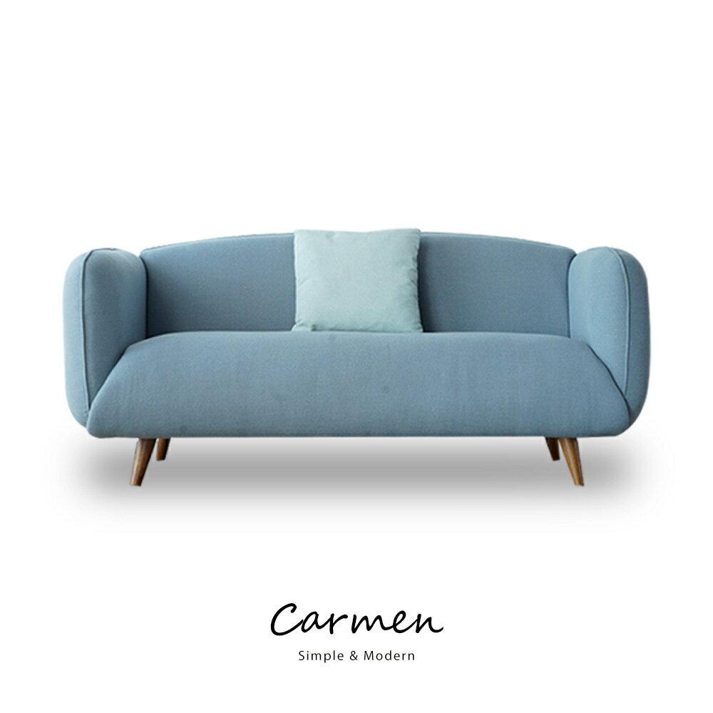 Carmen簡約北歐風三人沙發(含抱枕) 1